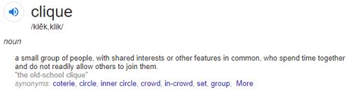 clique-speak